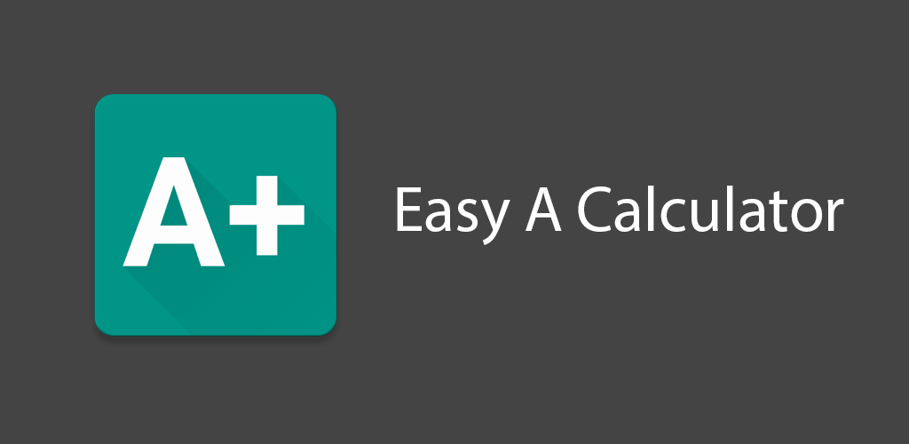 Easy A Calculator Graphic